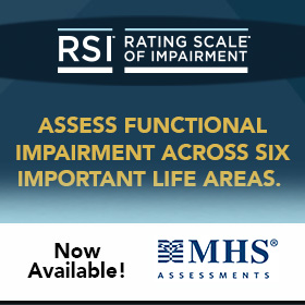 Rating Scale of Impairment | MHS Assessments