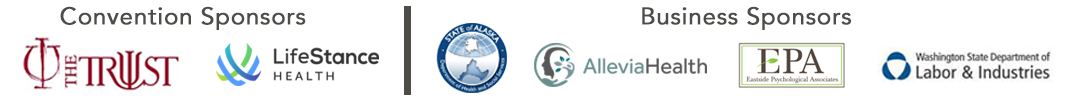 Sponsors for the Northwest Psychological Fall Convention